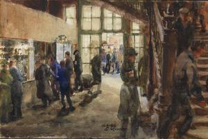 Life In Hallway, 1916