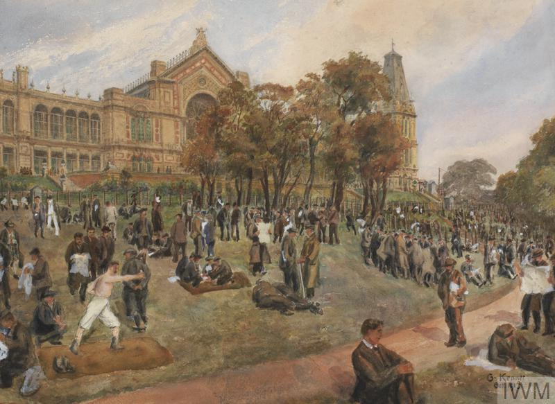 POW Morning Recreation October 1915