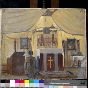 The Church of England Tent, 39th Stationary Hospital, Ascq, September 1919
