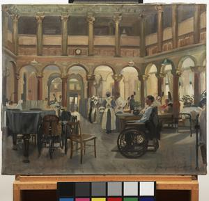 The Special Surgical Hospital at the 'Star And Garter', Richmond: The Ball Room