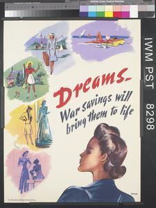 Dreams. War Savings Will Bring Them to Life