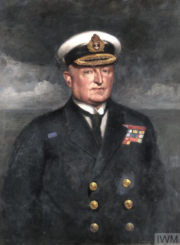 Admiral Sir T H M Jerram Gcmg Kcb 1920 Art Iwm Art 3141