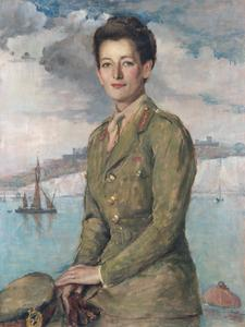 Mrs Jean Knox, CBE : Chief Controller and Director, Auxillary Territorial Service, 1942-3
