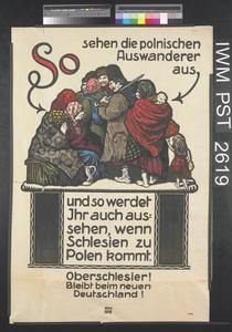 So Sehen die Polnischen Auswanderer aus [This is What the Polish Emigrants Look Like]