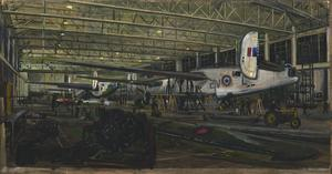 43 Repair Group Air Frame Repair Service, Lincoln : repairing Liberator aircraft