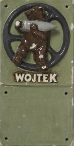 Wojtek - Polish Bear plaque