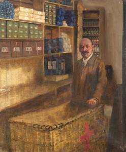 Medical Storeman : British Red Cross Society and Order of St John Medical Stores, Tottenham Court Road, London