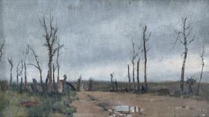 Near Hell-Fire Corner, Menin Road, Ypres