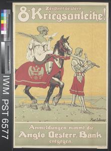 Zeichnet Oesterreichische Achte Kriegsanleihe [Subscribe to the Eighth Austrian War Loan]