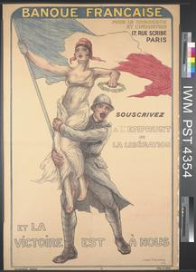 Souscrivez a l'Emprunt de la Libération et la Victoire est à Nous [Subscribe to the Liberation Loan and Victory will be Ours]