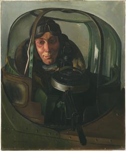 An Air Gunner In A Gun-turret : Sergeant G Holmes, D.F.M