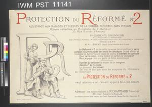 Protection du Réformé No. 2 [Protection for Category Two Invalided Soldiers]