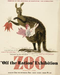 'Off the Ration' Exhibition - Regents Park Zoo