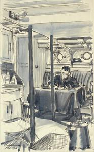 The Wardroom of a Motor Launch