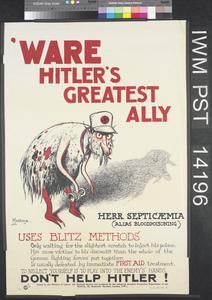 'Ware Hitler's Greatest Ally