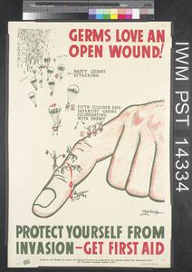 Germs Love an Open Wound!