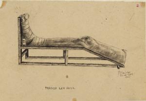 Tarsoa Leg Rest, 1944