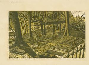 POW Cemetery, Kanu Camp, Thailand, January 1943. Thai-Burma Railway.