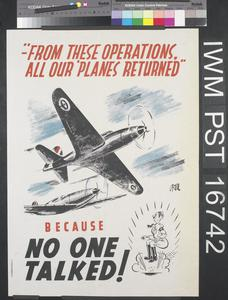'From These Operations, All Our 'Planes Returned' - Because No One Talked!