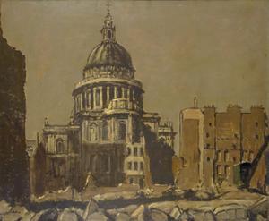 St Paul's by Moonlight, 1941
