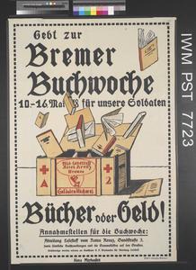 Gebt zur Bremer Buchwoche [Give to the Bremen Book Week]