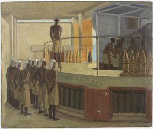 Gun Drill, Fort Mombasa, Kenya, 1943