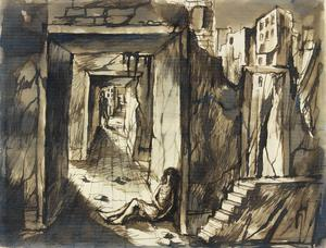 Desolation, Poplar, 1941 verso: A Ruined Street