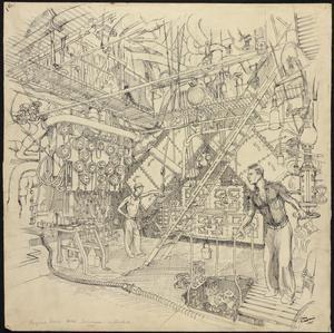 "The Engine Room : ""HMS Colossus"" 1945"