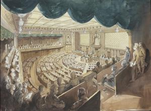 The Imperial Japanese Diet, Tokyo : the House of Representatives