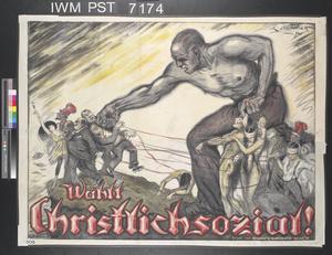 Wählt Christlichsozial! [Vote Christian Socialist!]