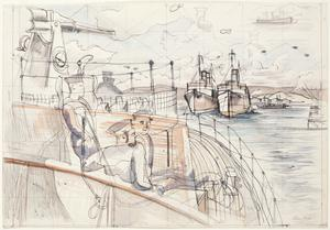 Study for 'At Anchor'