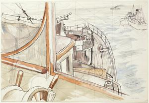 Study for 'From the Wheelhouse'