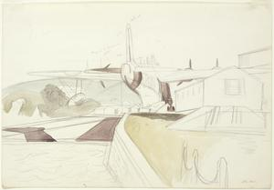 Study for 'Flying Boat'