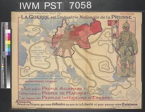 La Guerre est l'Industrie Nationale de la Prusse [War is Prussia's National Industry]