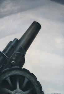 A Howitzer Gun in Elevation