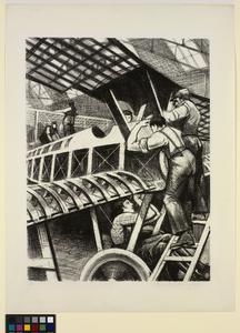Assembling Parts 'Britain's Efforts and Ideals'; Making Aircraft