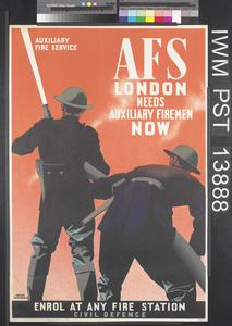 AFS - London Needs Auxiliary Firemen Now