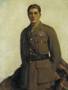 Major J B McCudden, VC, SO, MC, MM, RFC, 1919