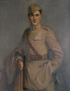 Captain Albert Ball, VC, DSO, MC. Notts and Derby Regt, and RFC, 1919