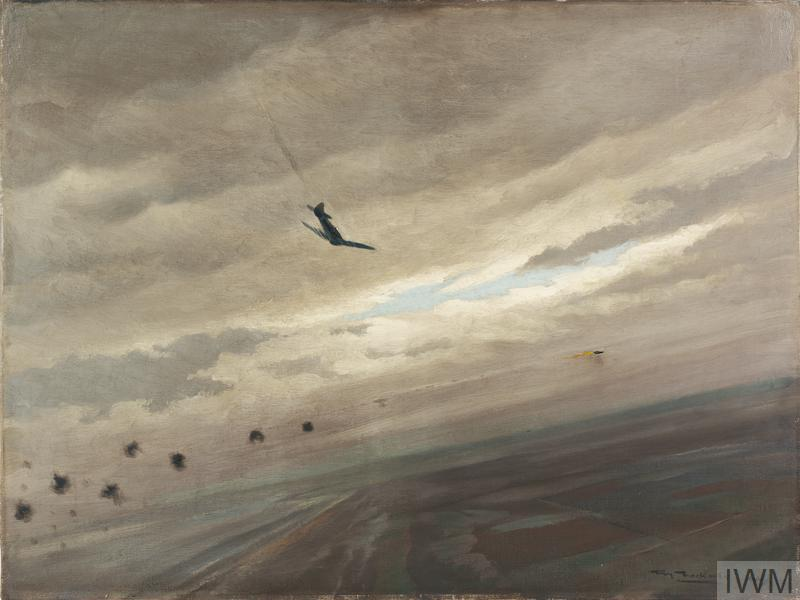 A Tempest Shooting Down a Flying-Bomb