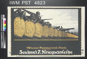 Zeichnet Siebente Kriegsanleihe [Subscribe to the Seventh War Loan]