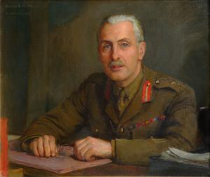 Major-General The Hon C Sackville-West, CMG : British Permanent Military Representative, Supreme War Council, Versailles