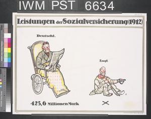 Leistungen der Sozialversicherung 1912 [Social Insurance Benefits 1912]