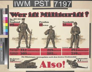 Wer ist Militarist? [Who is a Militarist?]