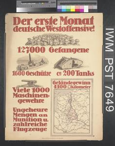 Der Erste Monat Deutsche Westoffensive! [The First Month of the German Western Offensive!]
