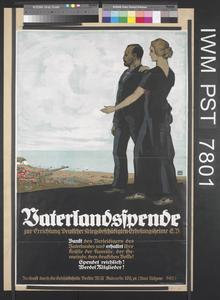 Vaterlandspende zur Errichtung Deutscher Kriegsbeschädigten-Erholungsheime [National Appeal for the Establishment of Convalescent Homes for the War-Disabled]