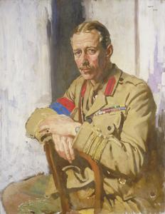 Lieut-Col A N Lee, DSO, OBE, TD, Censor in France of Paintings and Drawings by Artists at the Front. 1919