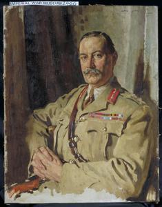 Lieut-Gen Sir Travers Clarke, KCMG, CB: Quarter-Master General, France. Painted December 1917
