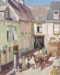 The Courtyard, Hotel Sauvage, Cassel, Nord