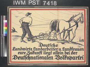 Deutsche Landwirte, Landarbeiter und Landfrauen [German Farmers, Farm Workers and Countrywomen]